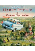 Harry Potter si Camera Secretelor (ilustrata)